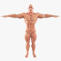 super hero body muscles max