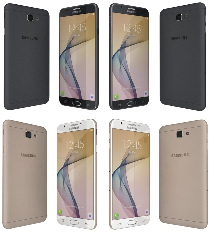 3d samsung galaxy j7 prime model