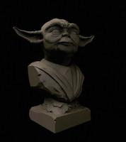 3d master yoda model
