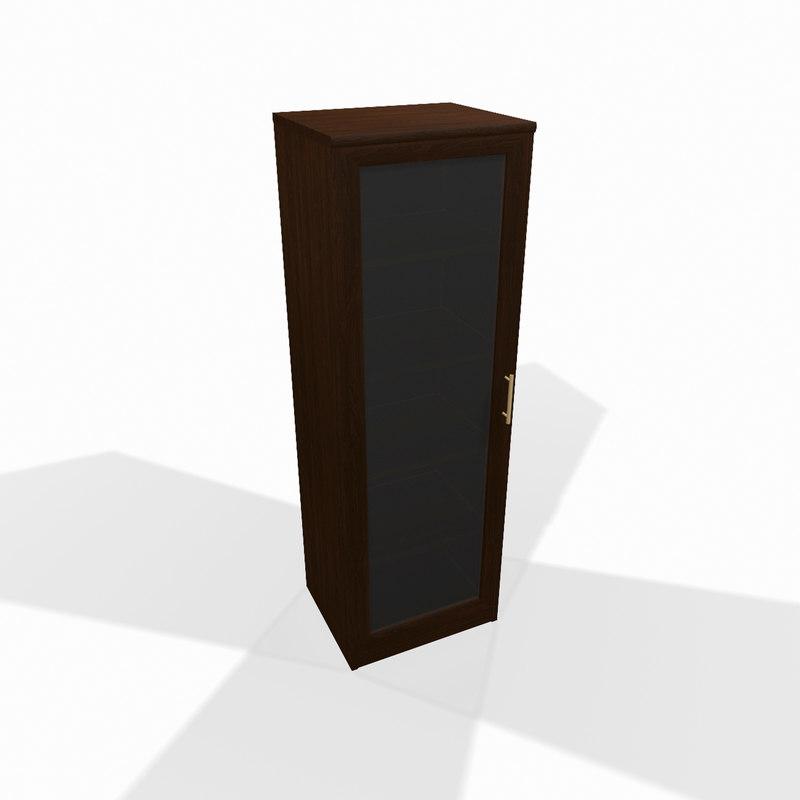 wooden shelf glass door max