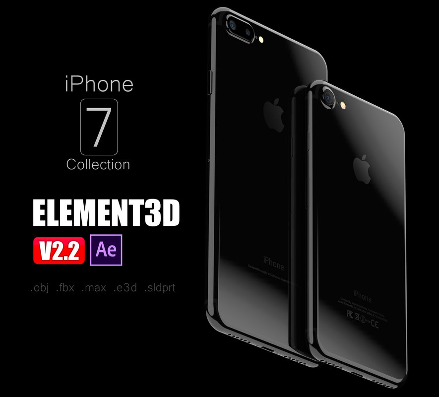 3d iphone 7 - model