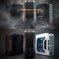 3d pc case aerocool xpredator model