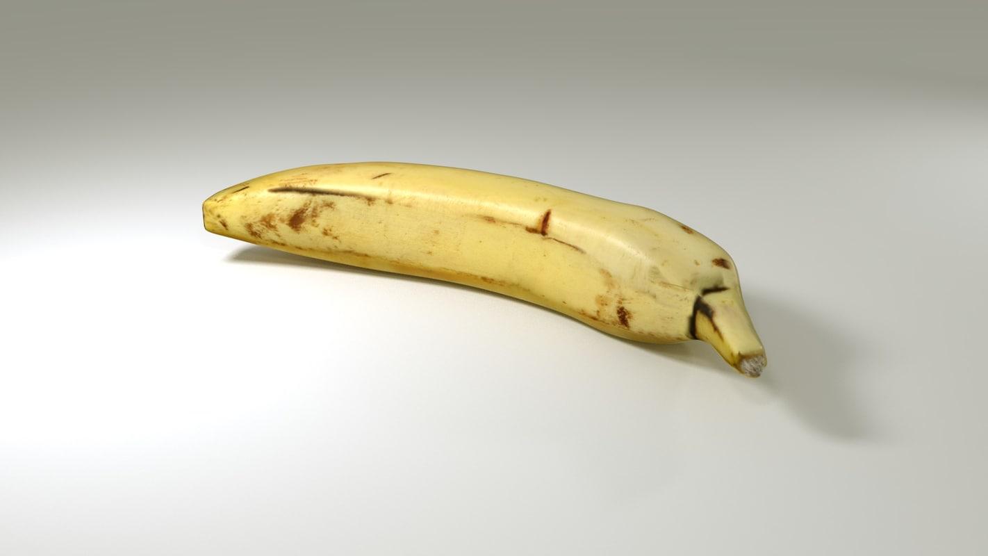 banana realistic real x free