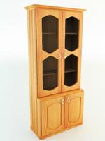 display cabinet 3d model