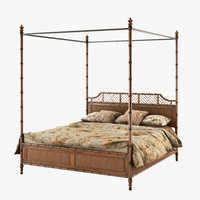 Lexington Tommy bahama island estate west indies bed king bamboo