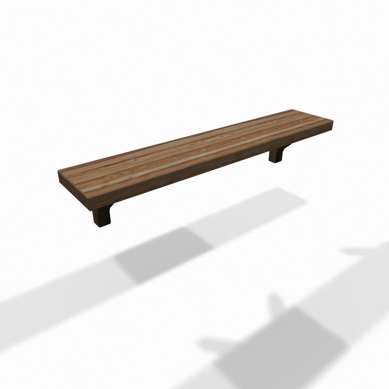 classic wooden wall shelf max