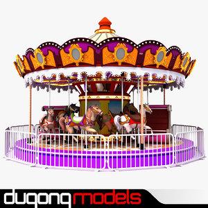 3d carousel