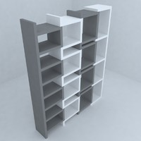 library 3d max
