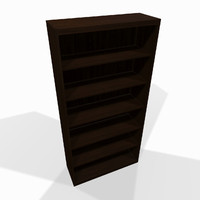 simple wooden shelf 3d max
