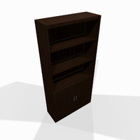 wooden shelf 3d max