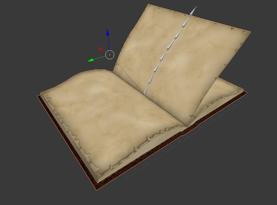 anim book mesh 3d fbx