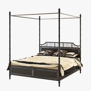 island estates bed tommy 3d model