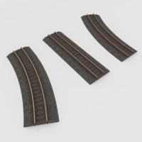 Railroad Tracks Tilable