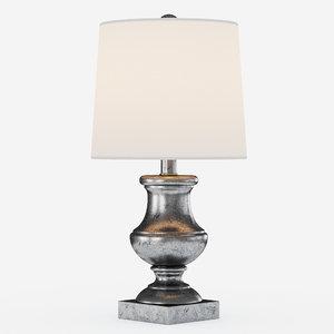 3d rapson table lamp