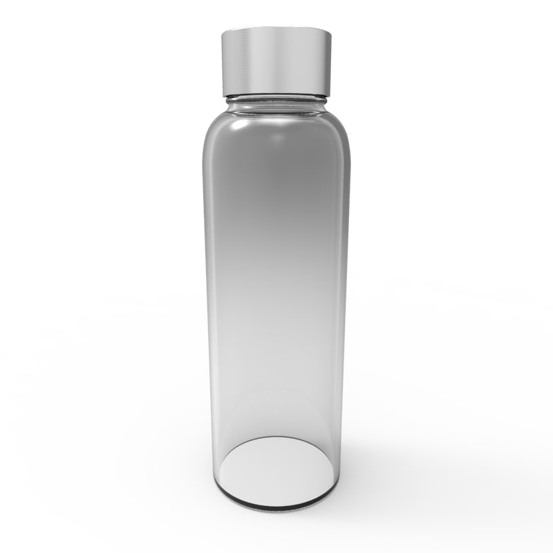 simple bottle 3d 3ds