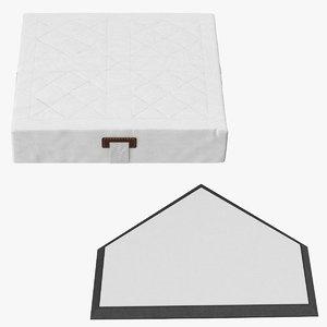 home plate base 3d model