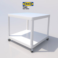 3d ikea tingby- tables