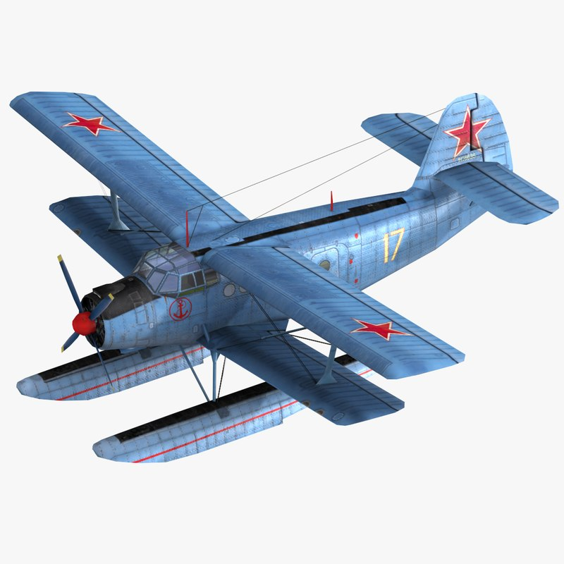 military floatplane transport 3ds