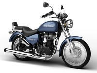 3d royal enfield thunderbird 500 model