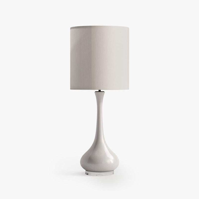 porta grace lamp 3d max