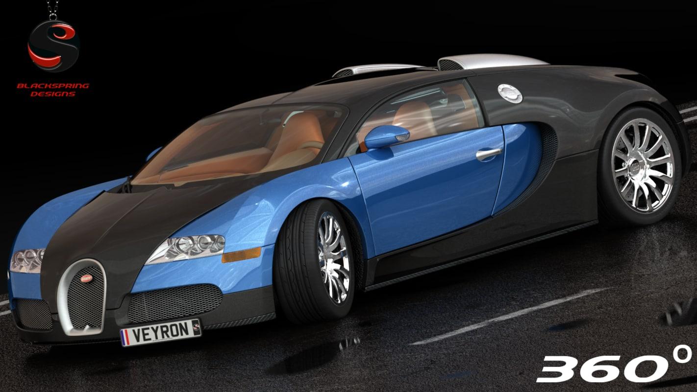 bugatti veyron 16 4 3d model