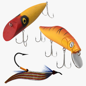3d fishing lures