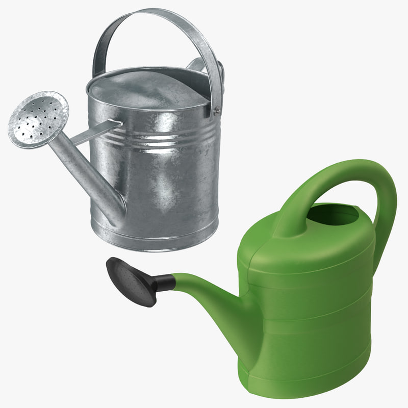 3d watering cans model