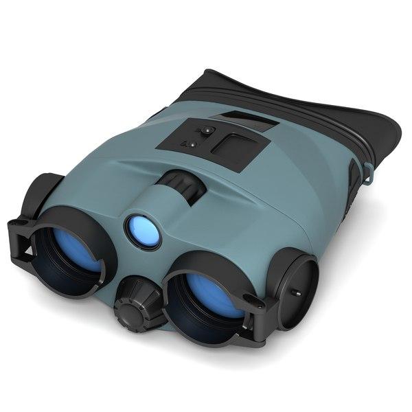 3d night vision yukon tracker model