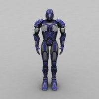 humanwarrior 2 3d model