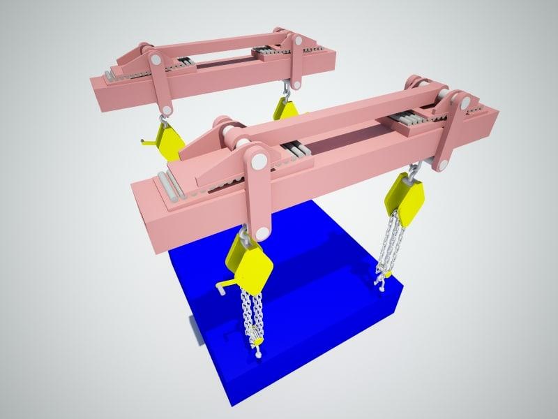 lifting device 3d model