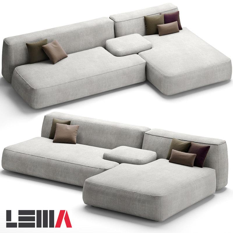 lemamobili cloud sofa max