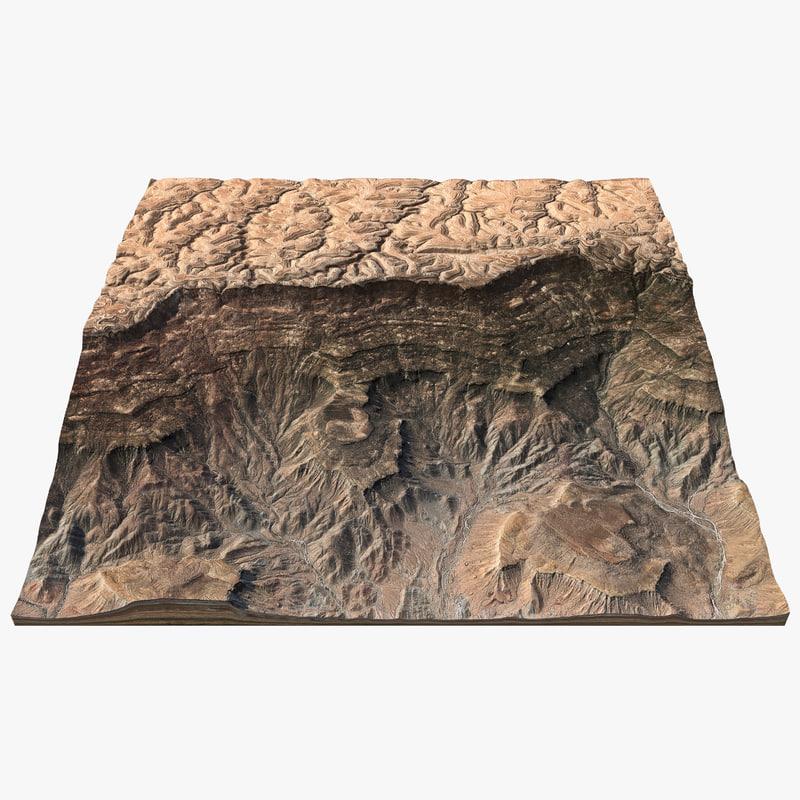 canyon ridge landscape max