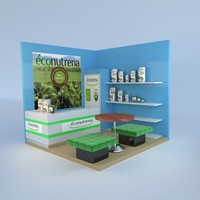 3ds exhibition stand design
