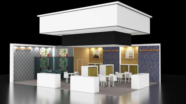 exhibition stand design obj