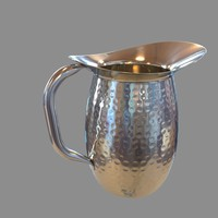 chrome jug pitcher max