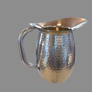 chrome jug pitcher max