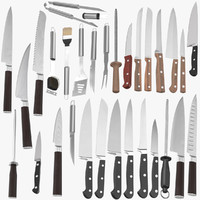 Knifes and BBQ Utensils
