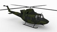 3d model of ch-146 griffon bell