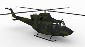 ch-146 griffon bell 3d 3ds