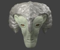 alien head blend