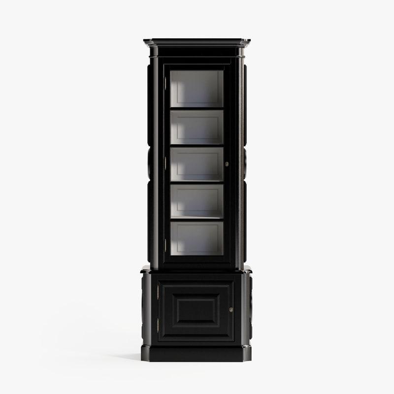 3d eichholtz cabinet splendor left model