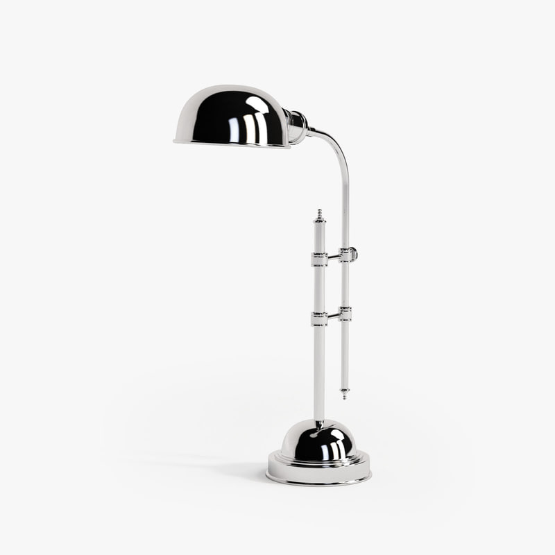 eichholtz table lamp greenwich 3d model