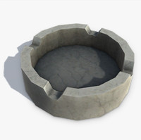 3d model ashtray