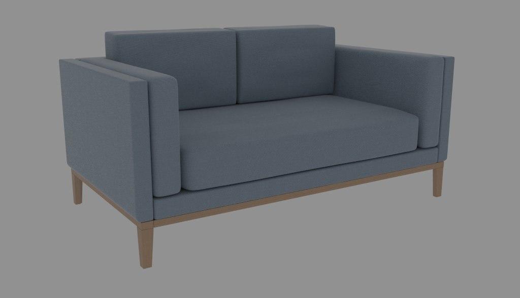 3d obj sofa rhino