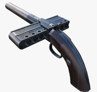 3d old pistol