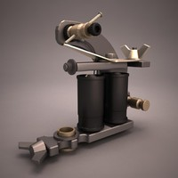 3d 3ds tattoo machine