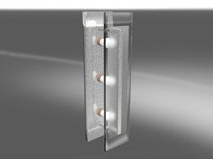 3d max bathroom light