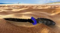 diving knife 3d model
