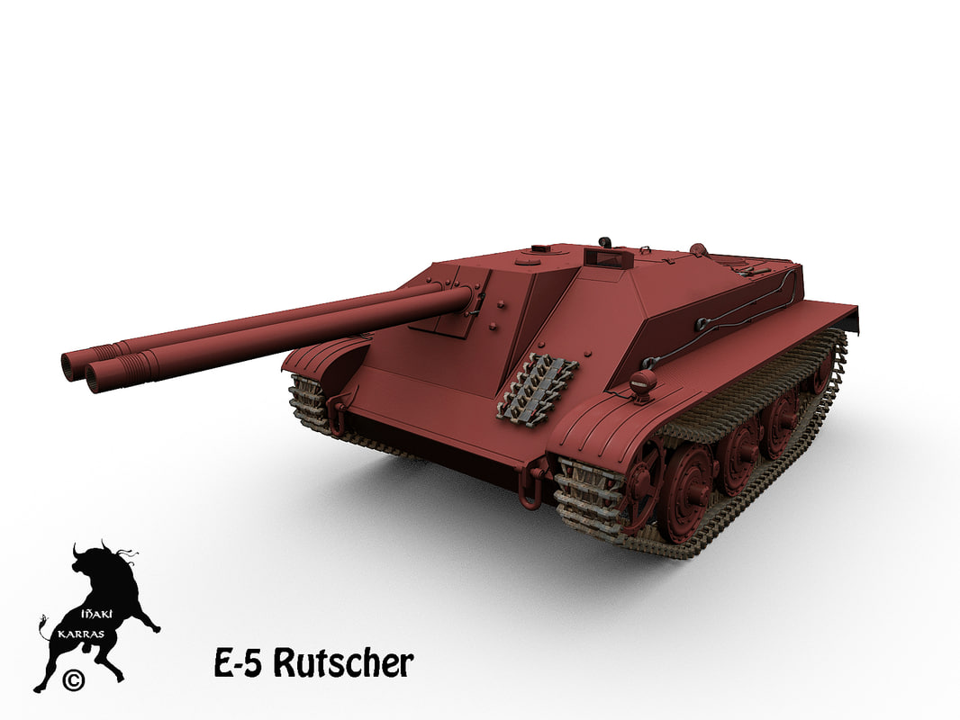 3d model e-5 rutscher e