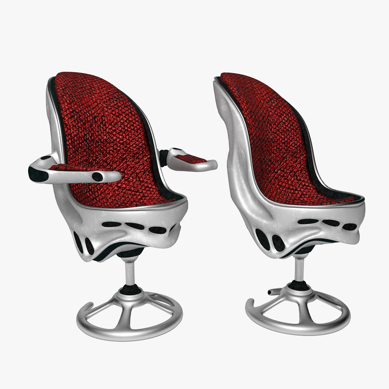 chair space style 3d max